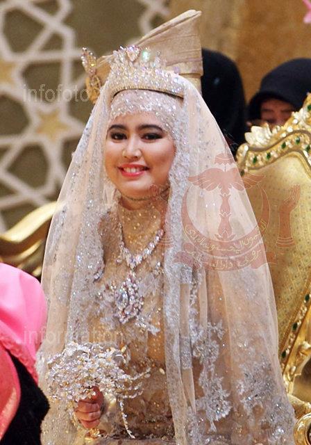 Gambar & Video Majlis Nikah Sanding Anak Sultan Brunei