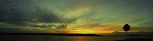 sunset panorama finland nikon experiment lahti d3100