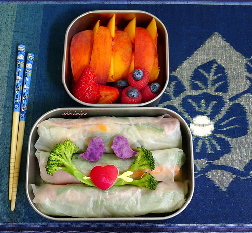Summer Rolls Bento, part 3. by sherimiya ♥