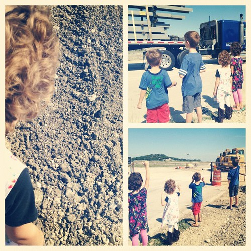 Construction field trip. #mikemulligan #fiveinarow