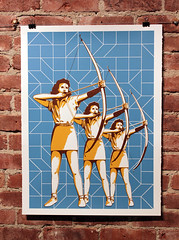 Archers - Blue