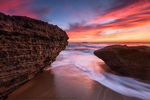 Evening Glow - Davenport, California