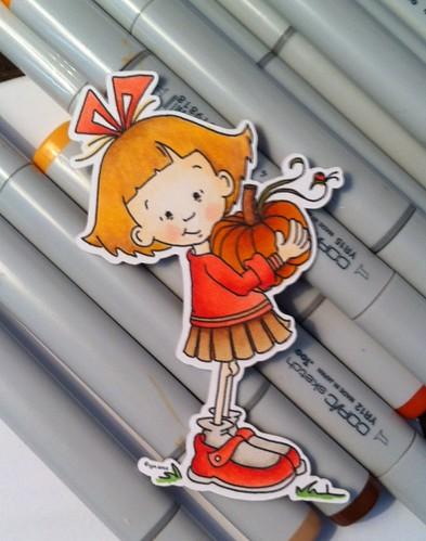 Sassy Sally & Her Pumpkin