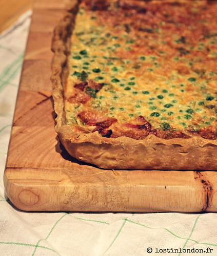 quiche bacon moutarde