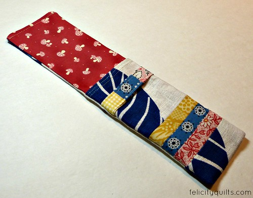 zakka pencil case inside