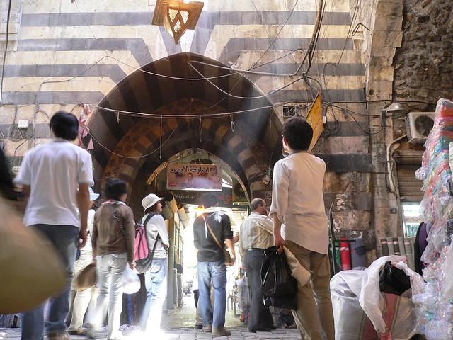 Souq in Aleppo