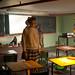 Incredibly creepy zombie classroom