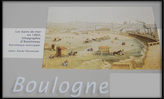 Boulogne sur mer lithographie bains de mer flickr for Salle de bain boulogne sur mer