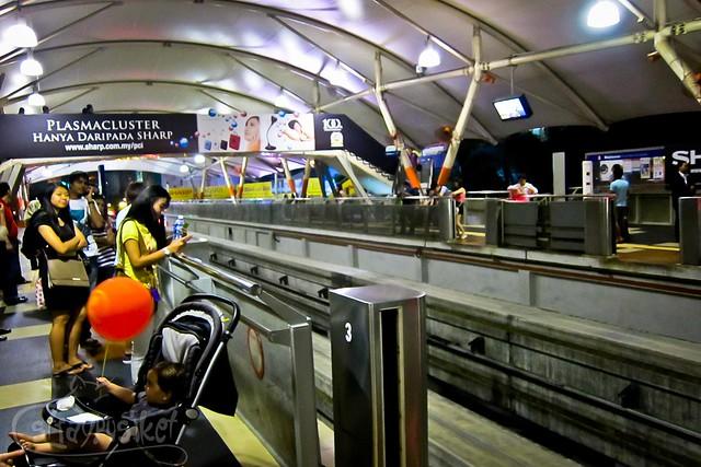 KL Monorail Bukit Bintang Station