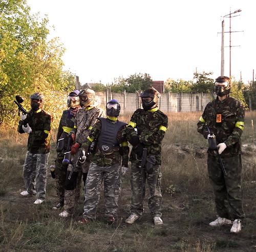 Zfort Group Paintball Battle (2012)