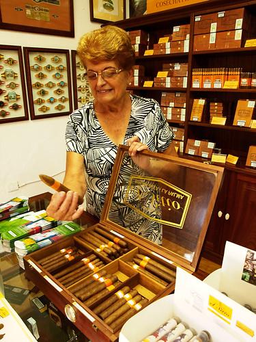 Isabel, Cigar Factory, Breña Alta, La Palma