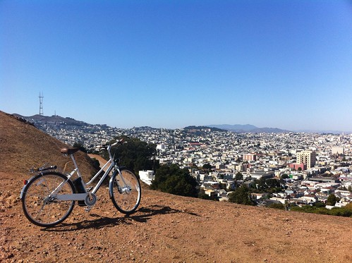 Rode my e-bike to the top of San Francisco