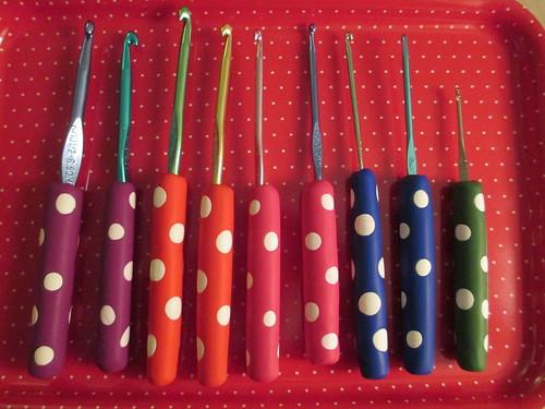 Hook handles