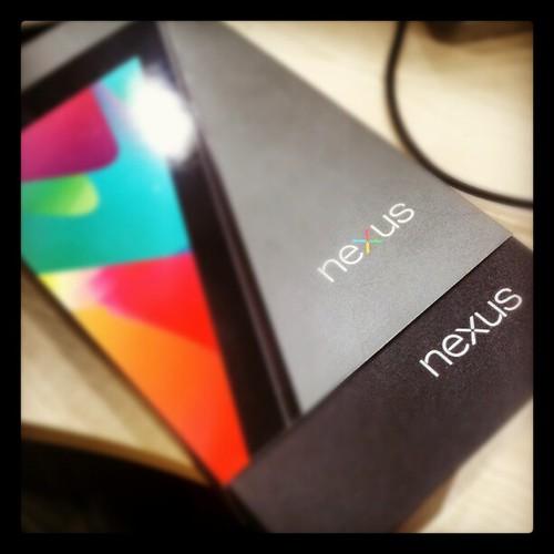 Hello, Nexus7.