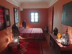 Quarto cama de casal no Dar Rita