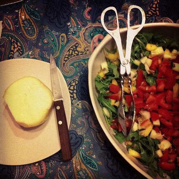 Jantar veggie.