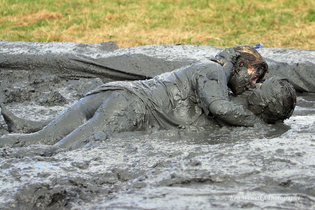 Mud Wrestling at the Lowland Games