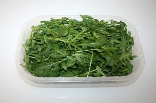 04 - Zutat Rucola / Ingredient rucola