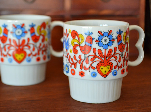 My New Vintage Mugs