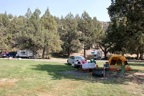 Page Spring Campground - Steens Mountains