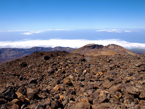 On Top of Teide, Tenerife