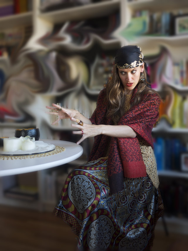Fortune Teller fair vanity DIY Halloween Costume 3
