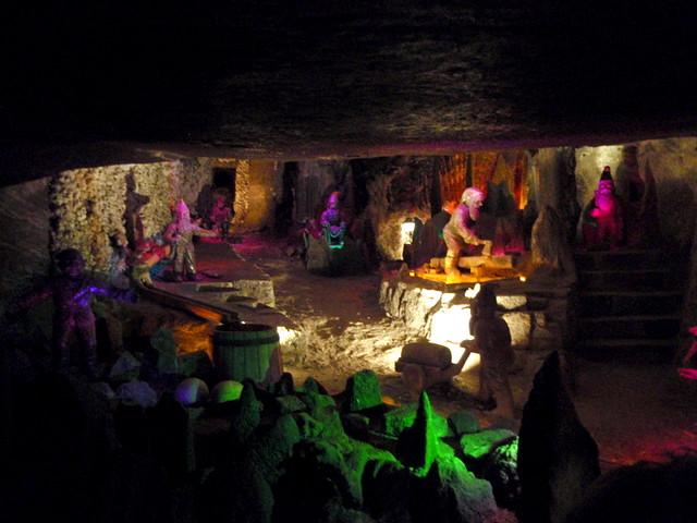 The seven dworfs, Velicka salt mine