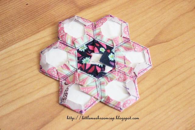 Hexi Flower - back