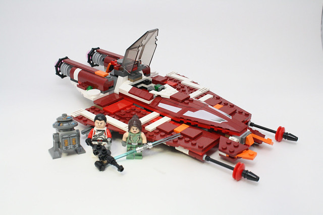 9497 Republic Striker Starfighter Review Pics