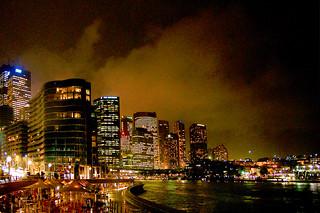 Wonderland by night.Sydney.