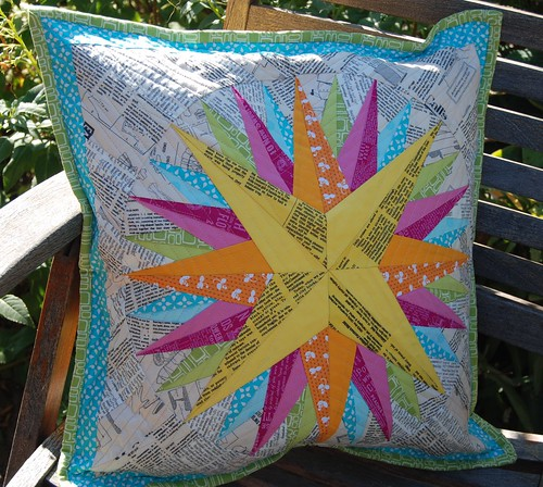 Mariner's compass Pillow