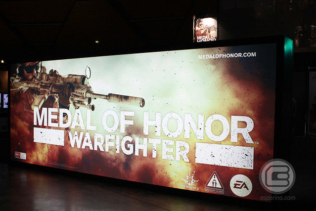 EB Expo 2012: Kristoffer Bergqvist of Danger Close (Medal of Honor Warfighter)