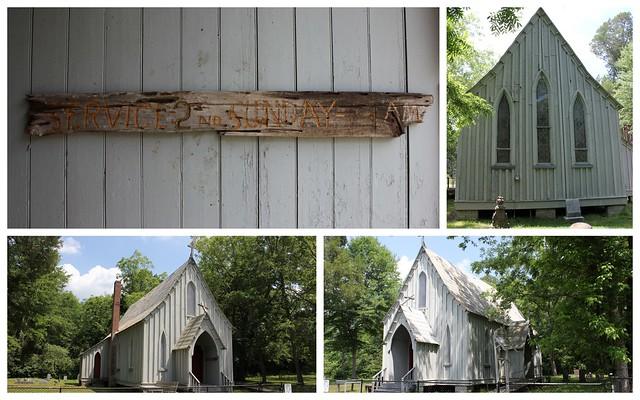 St. John's in the Prairie Episcopal, Forkland AL