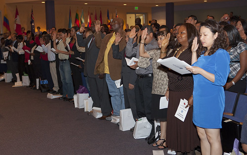 Naturalization Ceremony in Frederick