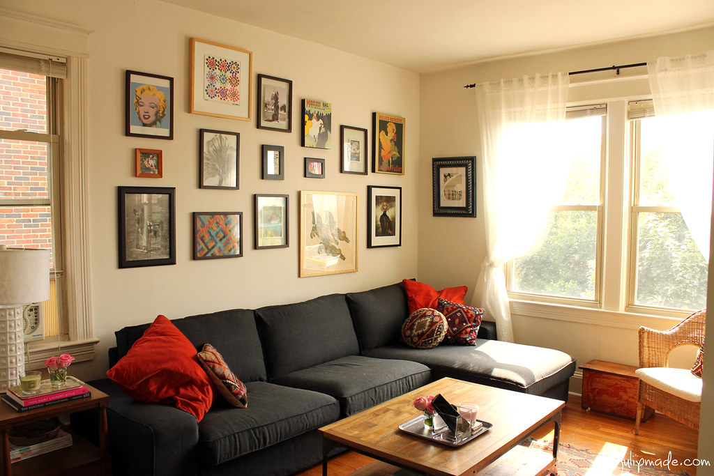 Julip made project apartment the living room for Decorating living room ideas for an apartment