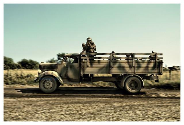 Opel Blitz WWII reenactment at