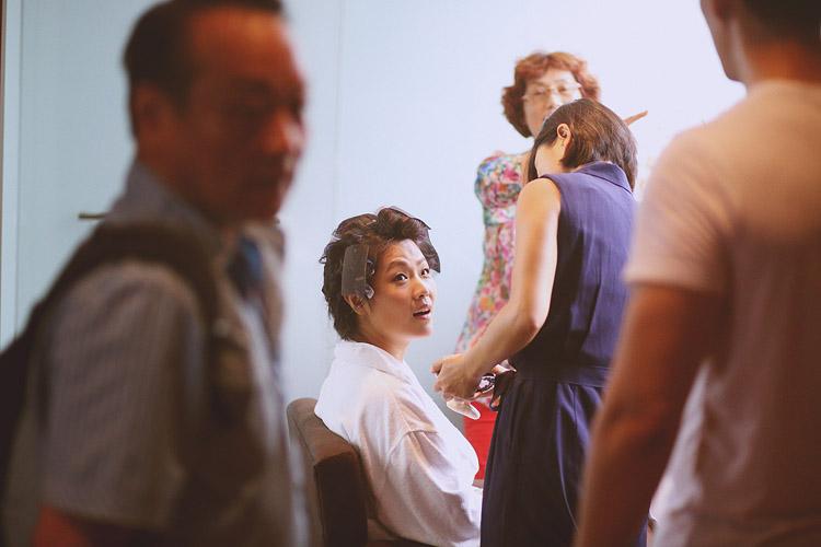 婚禮攝影-新踉化妝