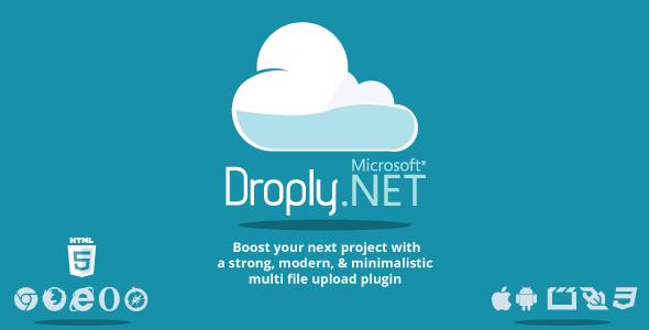 Droply.net v1.7.1 – minimalist responsive large digital file uploade