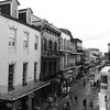 #bourbonstreet from the #balcony