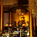 Golden interior with Buddha by DameBoudicca
