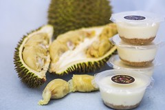 Durian cheese cuppies