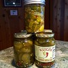 You can't attempt a #knockoff of #Wickles without a #sidebysidetest #Thanks #sisterKim #loveyousomuch !!!  #canning #preserving #goodeats #localproduce #frenchriviera #crystallakemi #beulahmi