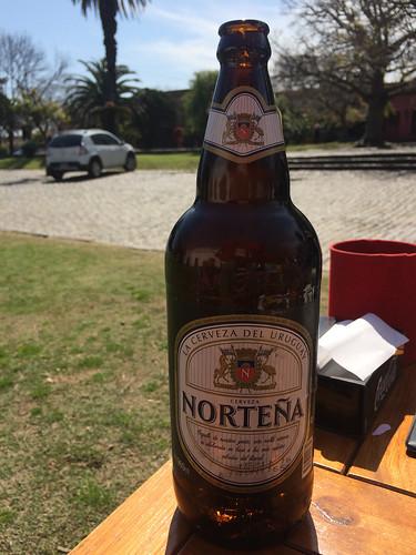 Colonia del Sacramento: la Norteña, une deuxième très bonne bière uruguayenne.