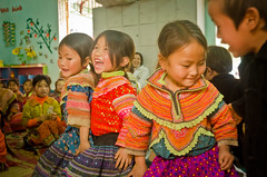 Our child playing and reading groups, one of the initiatives of our early childhood care and development program, have been a great success with Hmong children. These children have the chance to learn and develop through a range of fun activities in a safe, child-friendly environment.