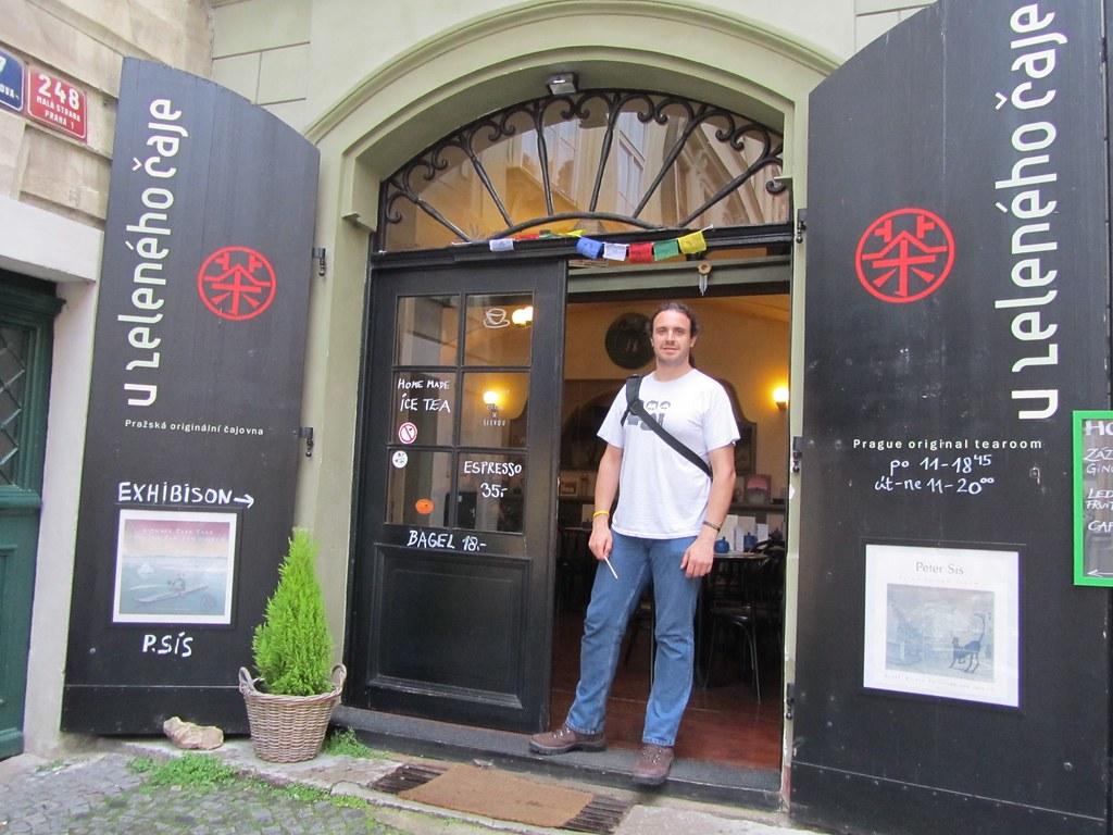 Cafetería donde se rodaron escenas de Amadeus