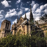 Not your typical Notre Dame, south from the Seine, Paris #lovingthemoment