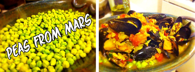 Peas from Mars