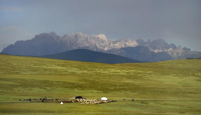Nomads Settlement, Tibet 2012