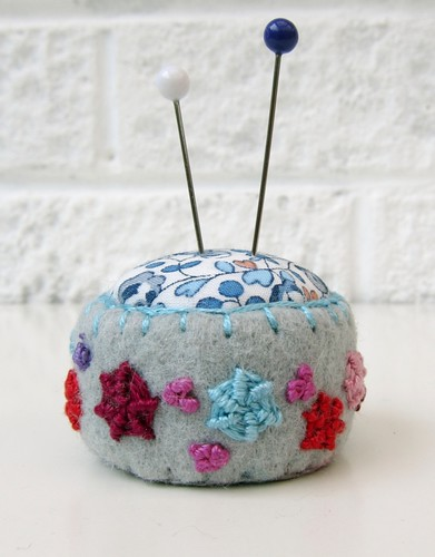 brit quilt pincushion