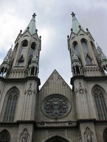 Sé Cathedral Sao Paulo